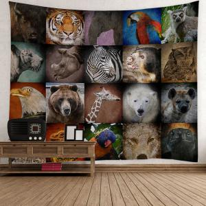 Home Decor Animals Print Wall Hanging Tapestry