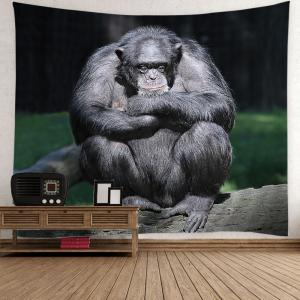 Home Decor Chimpanzee Print Wall Hanging Tapestry