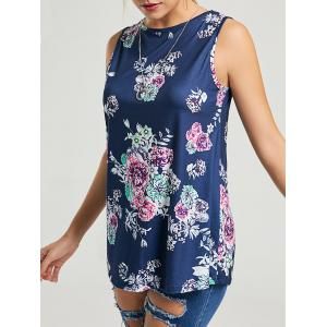 Floral Sleeveless Tunic