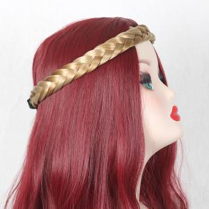 Braided Head Band Hair Extension - Light Gold