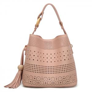 Tassel Cut Out Tote Bag
