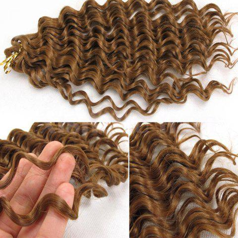 Outfit Wand Curl  Pre Loop Crochet Long Hair Extensions - GOLDEN BLONDE  Mobile