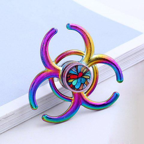 Discount Round Hand EDC Fidget Spinner Ring COLORMIX