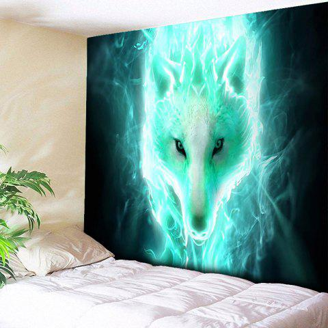Shops Wall Hanging Flash Wolf Printed Tapestry - W51 INCH * L59 INCH COLORMIX Mobile