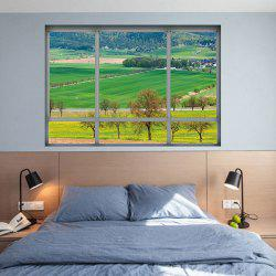 3D Window Countryside View Vinyl Wall Art Sticker