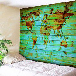 Wall Hanging World Map Printed Tapestry