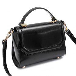 PU Leather Flap Mini Handbag -