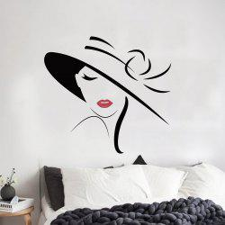 Girl Decorative Wall Art Sticker For Bedroom