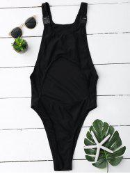 Cut Out Racerback One-Piece Swimsuit