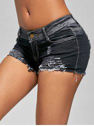 Shorts Denim Shining Denim - Noir