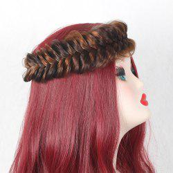 Large Colormix Braided Headband
