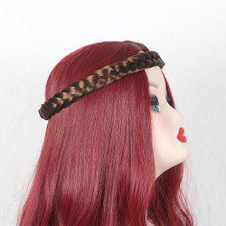Two Plait Braids Headband Hair Extension