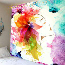 Home Decor Oil Painting Floral Wall Art Tapestry