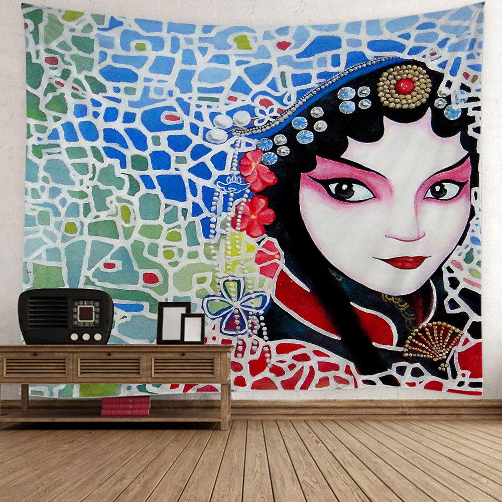 Best Peking Opera Print Wall Hanging Tapestry