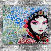Peking Opera Print Wall Hanging Tapestry -