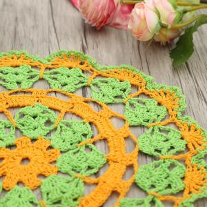 Round Shaped Handmade Crochet Napkins -