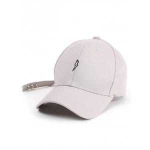 Circles Long Tail Lightning Pattern Baseball Cap