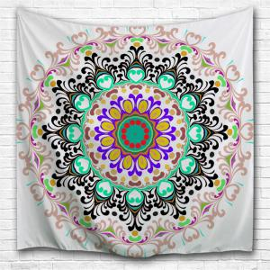 Wall Art Beach Blanket Indian Mandala Tapestry - Colormix - W59 Inch * L59 Inch