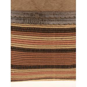 Ethnic Linen Large Shoulder Bag -