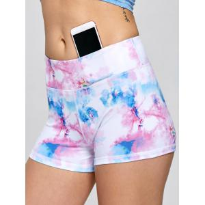 Sports Short Toile Mini Shorts - ROSE PÂLE M