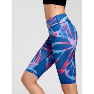 Active Pattern Running Slim Shorts