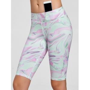 Fresh Pattern Sports Shorts -