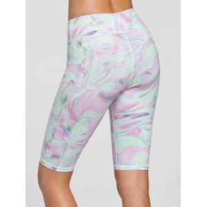 Fresh Pattern Sports Shorts - PINK M