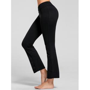 Stretch Flare Yoga Pants with Pocket