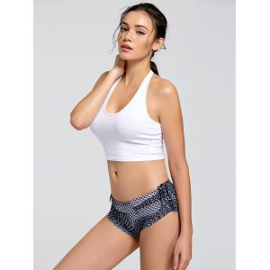 Sports Crop Halter Top -