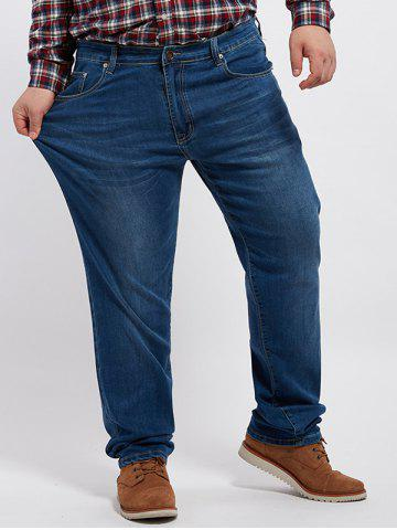 Grand prix Zip Fly Cuffed Jeans
