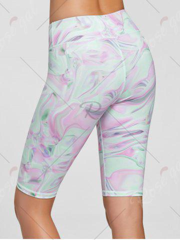 Best Fresh Pattern Sports Shorts - S PINK Mobile