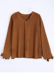 Chiffon Long Sleeve Top