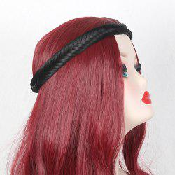 Fishbone Braided Headband Hair Extension