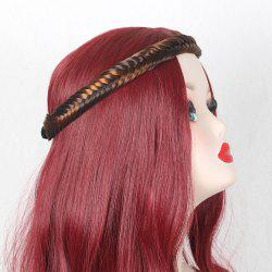 Fishbone Colormix Braided Headband