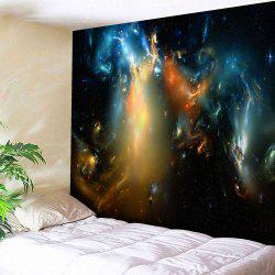 Wall Hanging Microfiber Magic Aurora Tapestry - Starry Sky Pattern - W59 Inch * L79 Inch