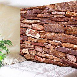 Brick Wall Hanging Printed Home Decorative Tapestry
