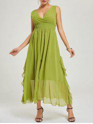 Empire Waist Chiffon Evening Dress -