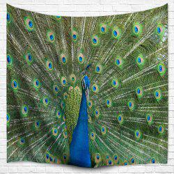 Peacock Wall Hanging Throw Bedspread Blanket Tapestry