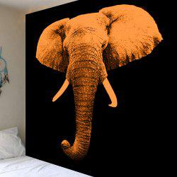 Home Decoration Elephant Print Wall Hanging Tapestry