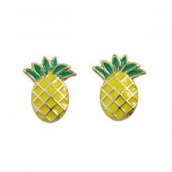 Tiny Pineapple Stud Earrings -