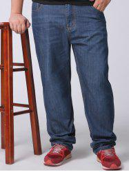 Plus Size Straight Leg Jeans