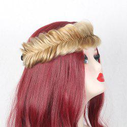 Colormix Large Fishbone Braided Headband