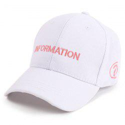 Letters Question Mark Embellished Baseball Cap -