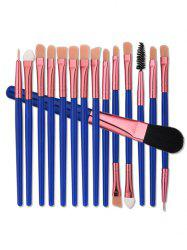 15 Nylon Eye Makeup Brushes Set