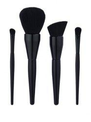 4Pcs Gourd Shape Handle Makeup Brushes Set