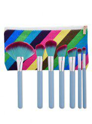 Makeup Brushes Set With Stripe Bag