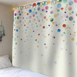 Home Decor Ink Painting Dotted Waterproof Wall Art Tapestry