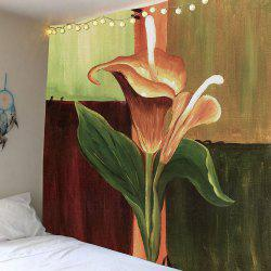Home Decor Oil Painting Flower Wall Art Tapestry