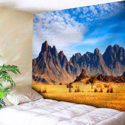 Home Microfiber Wall Hanging Mountain Tapestry