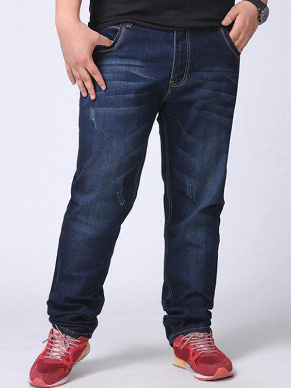 Outfits Plus Size Straight Leg Jeans